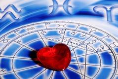 astrologiförälskelse royaltyfri fotografi