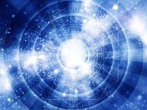 Astrologihoroskopbakgrund Arkivbild