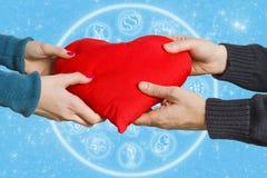 astrologii miłość Fotografia Stock