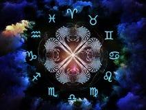 Astrologisammansättning Fotografering för Bildbyråer