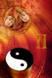 Astrologisch teken Tweeling stock illustratie