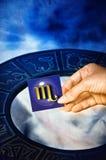Astrologische tekenSchorpioen Royalty-vrije Stock Fotografie
