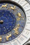 astrologisk klocka Arkivfoto