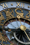 astrologisk klocka Arkivbild