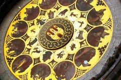 astrologisk klocka prague Royaltyfri Bild
