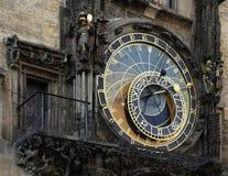 astrologisk klocka prague Royaltyfria Foton