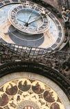 astrologisk klocka praha Royaltyfria Foton