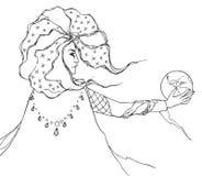 Astrologtrollkarlman Arkivbild