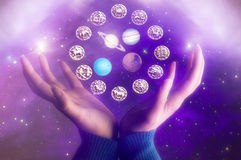 Astrology stock images