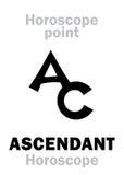 Astrology: ASCENDANT (Horoscope) Royalty Free Stock Photography