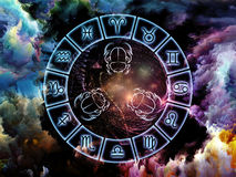 Astrology Background Stock Photo
