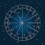 Astrology background Stock Photography