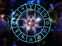 Astrology Composition Stock Images