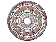 Astrology/ horoscope wheel Royalty Free Stock Photography