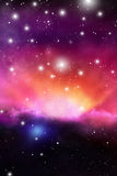Astrology Mystic Background. Outer Space. Vector Digital Illustration of Universe. Vector Galaxy Background. Astrology Mystic Background. Outer Space. Vector Stock Image
