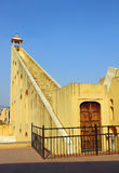 Old astrology observatory in Jaipur India stock image
