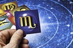 Astrology Scorpion Stock Photo