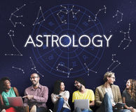 Astrology Star Horoscope Fortune Telling Fate Zodiac Concept Royalty Free Stock Image