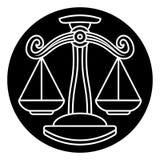 Libra Scales Astrology Horoscope Zodiac Sign Stock Photos