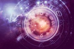 Astrology horoscope background royalty free stock photos