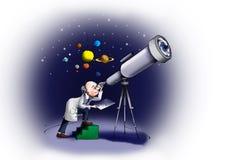 astroloog Royalty-vrije Stock Foto's