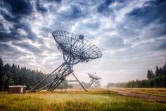 Astron radioteleskop Arkivbilder