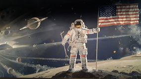 astronauci royalty ilustracja
