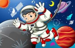 Astronaunt stock de ilustración