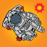 Astronaut stock illustration