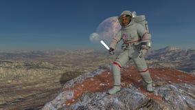 Astronaut Royalty-vrije Stock Afbeelding