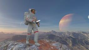Astronaut Stock Afbeeldingen