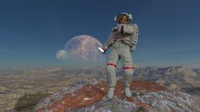 Astronaut Royalty-vrije Stock Foto