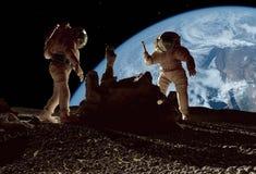 astronaut vektor illustrationer