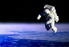 The astronaut Royalty Free Stock Photography