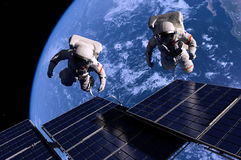 The astronaut Royalty Free Stock Photo