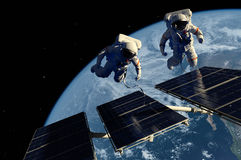 The astronaut Stock Photography