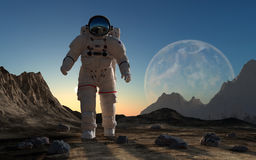 The astronaut Stock Image