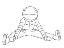 Astronaut_24 Foto de Stock