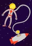 astronaut Royaltyfri Foto