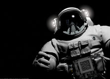 The astronaut Royalty Free Stock Photos