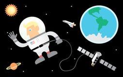 Astronaut Stock Foto's