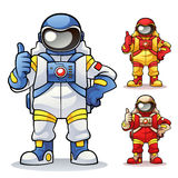 astronaut Stock Illustrationer
