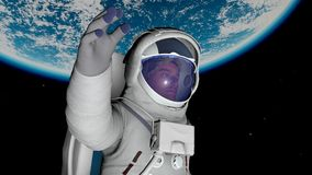 Astronaut Stockfotos