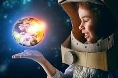 Astronaut Stockbild