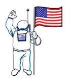 Astronaut Lizenzfreies Stockfoto