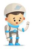 Astronaut stock illustratie