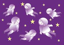 Astronaut background Stock Image