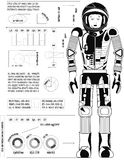 Astronaut Black Stock Images