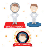 Astronaut cartoon Royalty Free Stock Photo