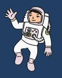 Astronaut cartoon Stock Images